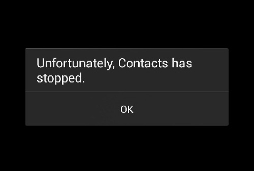 دانلود آموزش رفع ارور Unfortunately Contacts Has Stopped Error on Android